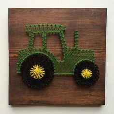 Hey, I found this really awesome Etsy listing at https://www.etsy.com/listing/242067707/tractor-string-art