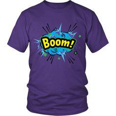 BOOM! Blue Cloud T-shirt