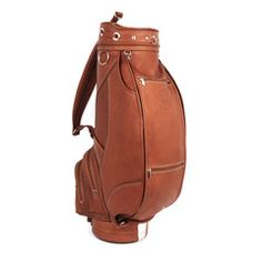 Large Executive Golf Bag - Carry your clubs in style! #golf #golfbag #men #women #sports #fashion #naked #leather #luggage #clubs