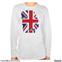 I Love UK T Shirt #Brexit