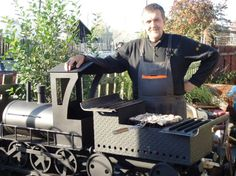 г.Екатеринбург Bbq Smoker Trailer, Camping Fire Pit, Smoke Grill, Model Trains, Metal Art, Barbecue, Steampunk, Grilling, Cookers
