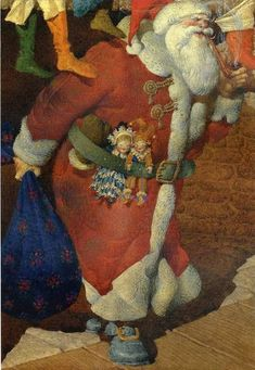 The Night Before Christmas; illustration by Gennady Spirin