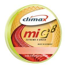 """Ebay """"Deals"""" CLIMAX miG8 Extreme Braid SB 0,25mm 24,5kg 275m Fluogelb 0,11€/m TACKLE-DEALS !!: EUR 29,87 Angebotsende:…%#Quickberater%"""