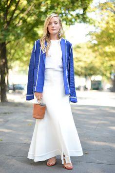 Modest in White