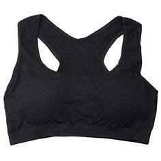 fe083c342530e Sexy Women s Black Walk Sports Yoga Bra Fitness Stretch Vest Seamless  Padded at Amazon Women s Clothing store