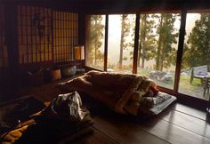 shikoku japan - This is in Shikoku but it reminds me a ryokan I stayed at for a few days east of Tokyo called Komadori Sansou. It's on top of a mountain in a small village accessible only by cable car. Talk about quiet!!! Awesome place!