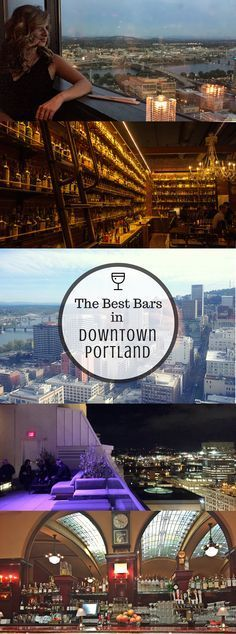 The drink options in downtown Portland, Oregon are as diverse and unique as the city itself. Whether you're looking for a low-cost happy hour or carefully crafted cocktail, you can find it here –- if you know where to look.