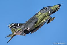 https://flic.kr/p/NRz9vG | QF-4 Phantom II | The Phantom arrivals at the 2016 Reno Air Races and Air Show.  The final air show apperance happens this weekend during  Aviation Nation at Nellis AFB. www.markvrphotography.com