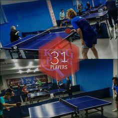 Turneul săptămânal #FORESTA etapa 171: 31 jucători #pingpong #tenisdemasa #asztalitenisz #tabletennis #tischtennis #oradea