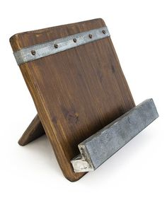 Another great find on #zulily! 19th Century Reclaimed Wood Cookbook Holder by Bambeco #zulilyfinds