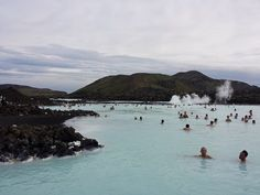 Blue Lagoon, Iceland  ♥ http://the-happy-project.com