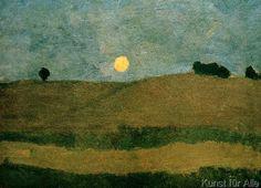 Paula Modersohn-Becker - Figurative Painting - German Expressionism - Landscape - Landschaft