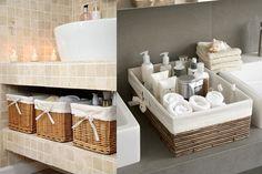 New farmhouse bathroom sink diy Ideas Marble Bathroom Floor, Farmhouse Bathroom Sink, White Bathroom Tiles, Simple Bathroom, Upcycled Home Decor, Trendy Home, Black Decor, Bars For Home, Amazing Bathrooms
