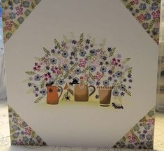 Pottery Petites Framed - My WordPress Website Cardio Cards, Card Io, Tiny Flowers, Handmade Birthday Cards, Paper Cards, Blank Cards, Clear Stamps, Making Ideas, Cardmaking