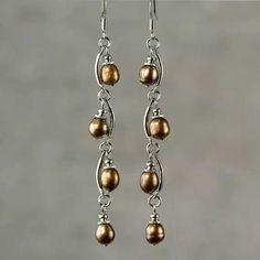Pearl earrings 12