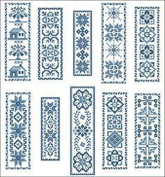 Resultado de imagen para cross stitch bookmark