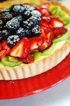 Anne Strawberry Blog. My favorite fruit tart is on here! I use a different recipe for the filling--mascarpone cream cheese filling!