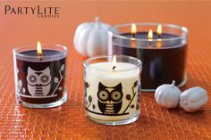 #partylite #halloween #hiboux