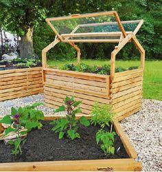 Gardenplaza - Mit einem Hochbeet lässt sich ganzjährig knackiges Gemüse ernten - Buchstäblich auf hochwertige Weise gärtnern