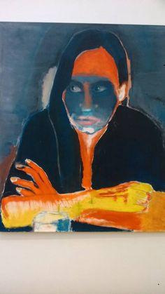 Artist: Marlene Dumas 2015 Genetiese Heimwee / Genetic Longing 1984 Oil on canvas + Dumas, Sweet Nothings: Notes and Texts, London, Tate Publishing. Marlene Dumas, Painting Inspiration, Art Inspo, South African Artists, Francis Bacon, Expresso, Dutch Artists, Jasper Johns, Portrait Art