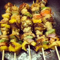 1000+ images about SKEWERS on Pinterest   Kebabs, Skewers and Kabobs