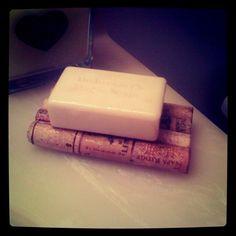Creative upcycling ideas- soap dish, bath mat, Christmas trees... using corks, mason jars and more.