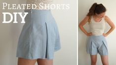 DIY - Pleated Shorts | Amphioen