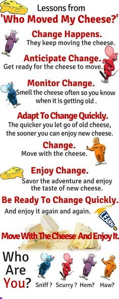 Who Moved My Cheese - by Spencer Johnson (Book Summary) - TRIPS AND BOOKS