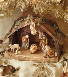 A stunning display sure to delight your guests, the Kostner 7-pc. Nativity Set features seven intricately hand-painted pieces worthy of becoming a cherished piece for years.