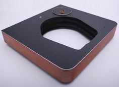 By far our most popular turntable plinth. Simple design but very effective. The standard solid plinth for Garrard 401 / 301 and all Technics SP Series turntables is a big solid heavy multiple layered system wrapped in real wood veneer and finished w...