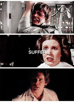 Star Wars - Luke / Leia / Han