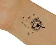 Temporary Tattoo Flower Waterproof Fake Tattoo by UnrealInkShop