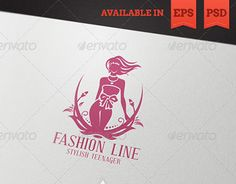 """Check out new work on my @Behance portfolio: """"Fashion Line"""" http://be.net/gallery/50450565/Fashion-Line"""