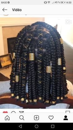 Top 60 All the Rage Looks with Long Box Braids - Hairstyles Trends Box Braids Hairstyles For Black Women, Braids For Black Women, African Braids Hairstyles, Braids For Black Hair, Protective Hairstyles, Bob Hairstyles, Black Hair Braid Hairstyles, Dreads Black Women, Hair Jewelry For Braids