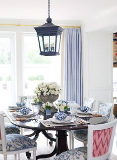 :: Ashley Whittaker Design :: Will blue go with your new china cabinet?