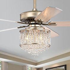 Silver Orchid Mason Ceiling Fan (Aged Silver), Warehouse of Tiffany Elegant Ceiling Fan, Silver Ceiling Fan, Fancy Ceiling Fan, Ceiling Fan Chandelier, Brass Chandelier, Ceiling Lights, Chandeliers, Chandelier Ideas, Hanging Chandelier