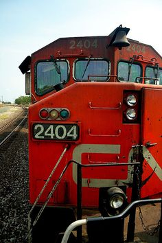 Canadian National locomotive