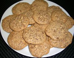 Crunchy Pecan Cookies #Recipe. #Glutenfree for #celiac #coeliac. Dbl ...