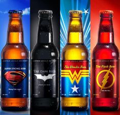 Justice League's beers