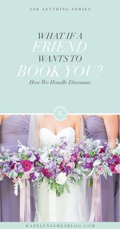 Wedding Photography Poses What If a Friend Wants to Book You? How To Handle Discounts by Katelyn James Photography Wedding Photography Tips, Photography Business, Photography Tutorials, Photography Lessons, Professional Photography, Wedding Events, Wedding Day, Ikea Wedding, Wedding Hacks