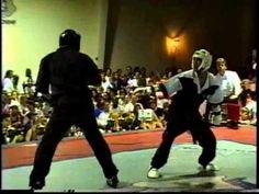 Eric Brewer vs Michael Pombeiro 1996 Bluegrass Nationals Karate Tournament