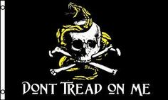 NEOPlex 3' x 5' Don't Tread On Me Skull & Crossbones by NEOPlex. Save 60 Off!. $7.94. This 3 x 5 foot flag is made from super polyester that is durable, yet lightweight enough to fly in even the lightest breeze. It has 2 brass grommets firmly attached to heavy canvas on the inner fly side. Bright, vivid colors and colorfast to reduce fading. Many titles to choose from.