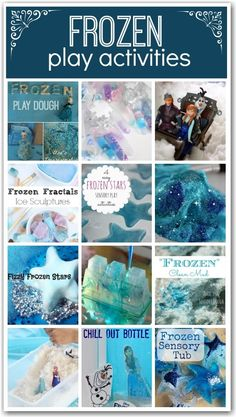 Disney Frozen Crafts and Activities curated by  Here Come the Girls