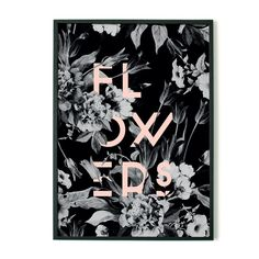 Print - Flowers/Pink