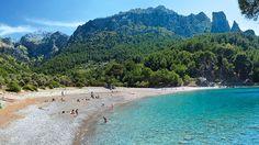 Blick auf die Cala Tuent an der Westküste Mallorcas. (Quelle: Mallorcas Schöne Seiten)