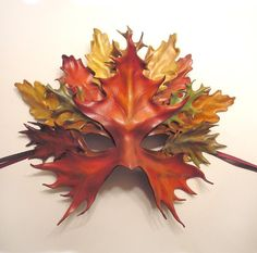 Cheri's Blog: How to make Leather Leaf Jewelry and Mask