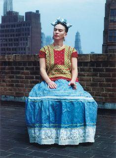 Frida Kahlo,1946, NY, photographer:  Nickolas Muray
