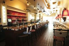 Settle into the bar/lounge for a smoky mezcal cocktail and the extensive variety…