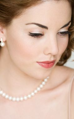 Image detail for -vintage inspired wedding makeup from the Powder Room Hair and make Up ...