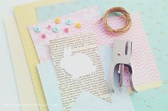Homeroad-Book Page Bunny Garland Easter Garland, Easter Banner, Easter Bunny Decorations, Easter Books, Bunny Ears Headband, Easter Crafts, Easter Ideas, Little Books, Book Pages